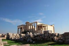 athena tempel Fotografering för Bildbyråer