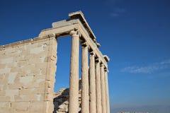 athena tempel Royaltyfria Foton