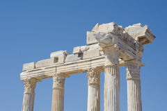 Athena temple Royalty Free Stock Photography