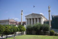 Athena y Apollo Museum foto de archivo