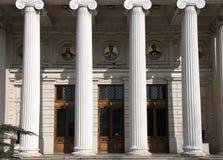 Athenaeum in Boekarest royalty-vrije stock foto's