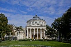 Athenaeum in Boekarest Stock Foto