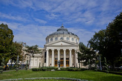 Athenaeum in Bucharest Stockfoto