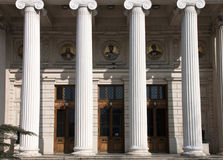 Athenaeum in Bucharest - RAW format Royalty Free Stock Photos