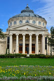 Athenaeum  Bucharest, Romania Stock Photo
