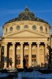 AthenaeumAteneul romare royaltyfri fotografi