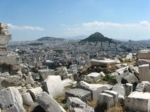 Athene Stock Afbeelding