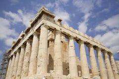 Athene, Akropolis Parthenon stock afbeeldingen
