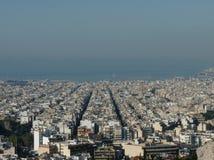 Athene en Piraeus, Griekenland Royalty-vrije Stock Foto's