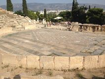 Athene Griekenland stock foto's