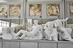 ATHENE, GRIEKENLAND - FEBRUARI 25, 2016: I Binnenlandse mening van nieuwe A Stock Afbeeldingen