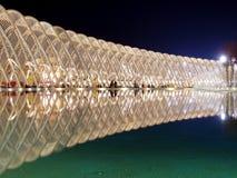 ATHENE, GRIEKENLAND - MAART 10: Olympische Velodrome bij de Olympische Complexe Sporten van Athene Stock Foto's