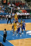 Athene - het Basketbal van FIBA 2008 Stock Afbeelding