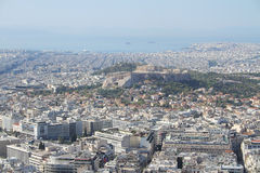 Athene - hoofdstad van Griekenland Royalty-vrije Stock Afbeelding