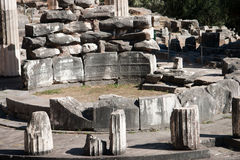 Athene-Schongebiet lizenzfreie stockbilder