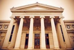 Atheneum de Bucareste fotografia de stock