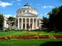 Atheneum de Bucareste foto de stock