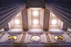 atheneum detail romanian Στοκ Φωτογραφία
