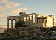 The Athenian Acropolis 3 Stock Images