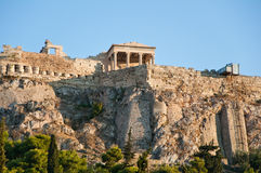 Athenian Acropolis. Athens, Greece. Royalty Free Stock Photo