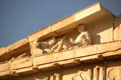 The Athenian Acropolis 6 Royalty Free Stock Photos