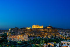 Athenian Acropolis Royalty Free Stock Photos