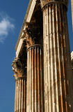 Athenian Columns Royalty Free Stock Photo