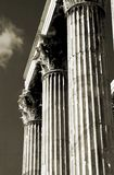 Athenian Columns Royalty Free Stock Image