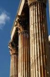 athenian kolumny zdjęcie royalty free