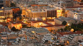 Athenian rooftops, Greece. Stock Photos