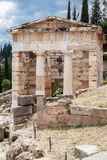 Athenian Treasure Delphi Greece Royalty Free Stock Image
