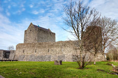 Athenry Castle at Autumn in Ireland. Stock Photos