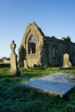 Athenry Dominican Friary,details  and cemetery Stock Photography