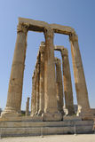 athens świątyni zeus Fotografia Stock