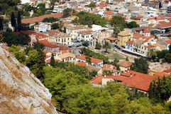 Athens. View of the city of Athens from above Stock Image