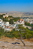Athens. View on Athens from Acropolis, Greece Stock Photo