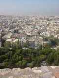 Athens. Panorama of Athens, capital of Greece Stock Images