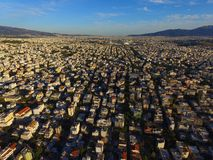 Athens From Above. Athens photo taken by drone Stock Image