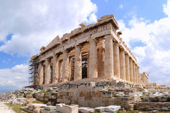 Athens Acropolis. Is the most famous landmark of Greece Royalty Free Stock Image