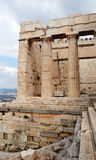 Athens Acropolis. Is the most famous landmark of Greece Royalty Free Stock Images