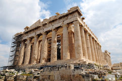 Athens Acropolis. Is the most famous landmark of Greece Royalty Free Stock Photo