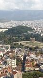 Athens. Acropolis cities view daytime Stock Image