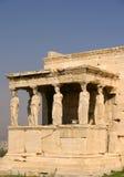 Athens The Acropolis, Erechtheum porch Stock Photography