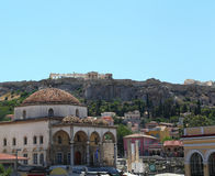Athens with the Acropolis, Greece Royalty Free Stock Photo
