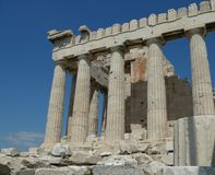 Athens Acropolis Greece Stock Photography