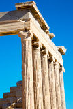 Athens  acropolis and Royalty Free Stock Photos