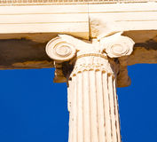 Athens  acropolis and  historical    in greece the old architect Royalty Free Stock Photos