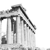 Athens  acropolis and  historical    in greece the old architect Stock Photography