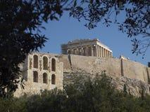 Athens Acropolis Parthenon Royalty Free Stock Photo