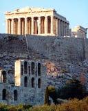 Athens Acropolis Parthenon Royalty Free Stock Photos